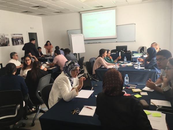 September 20, 2017 - MorSEFF participates in a workshop on CSR at the International University of Rabat